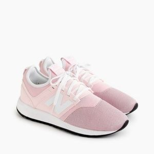 New Balance for J. Crew 247 Sneakers in Pink